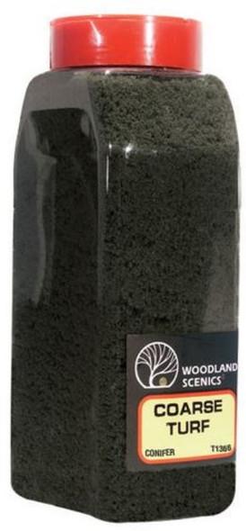 Woodland Scenics Turf Coarse Conifer 32 oz T1366
