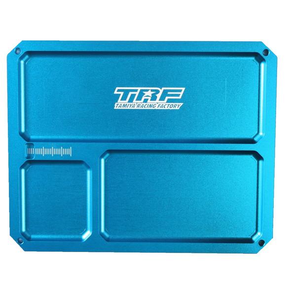 Tamiya 42292 RC Aluminum Parts Tray Blue