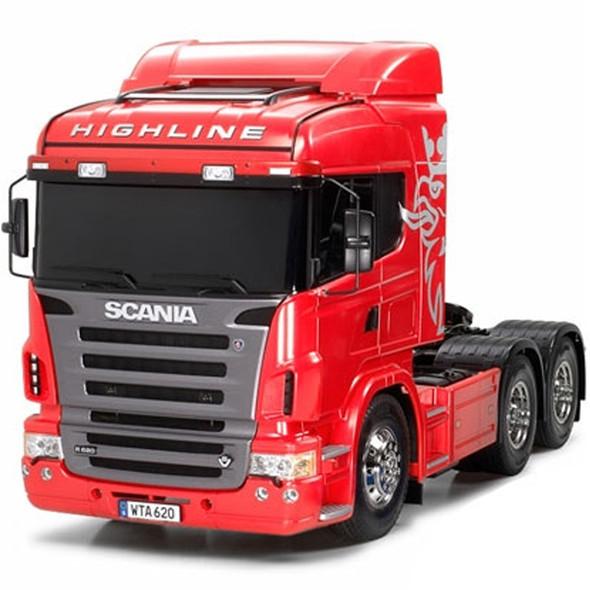 Tamiya 56323 1/14 Scania R620 6x4 Highline Tractor Truck Kit