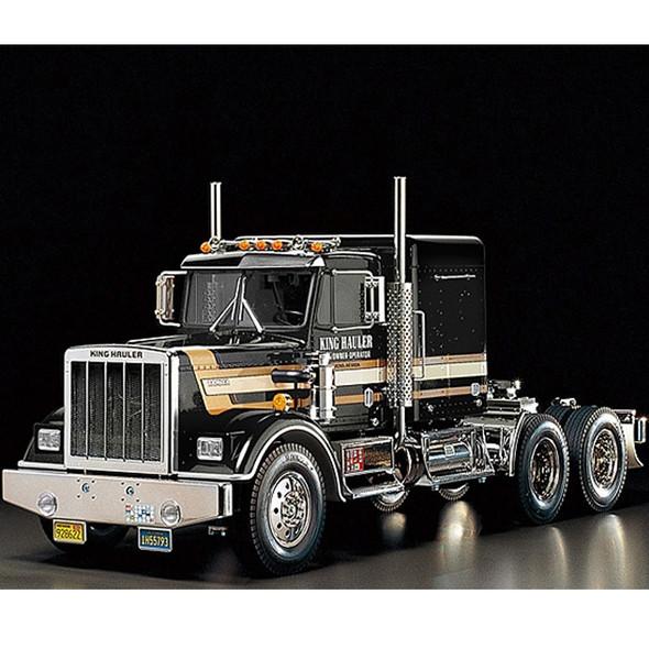 Tamiya 56336 1/14 King Hauler Tractor On Road Truck Black Edition Kit