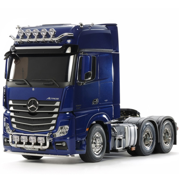 Tamiya 56354 1/14 Mercedes-Benz Actros 3363 GigaSpace Tractor Truck Kit Blue