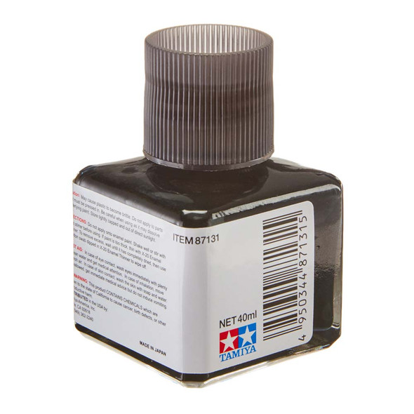 Tamiya 87131 Panel Line Accent Paint Clear Black 40ml