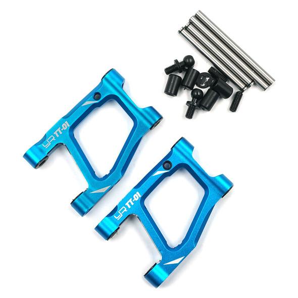 Yeah Racing TATT-038BU Alum Rear Lower Arm Set Blue : Tamiya TT-01/ TT-01E
