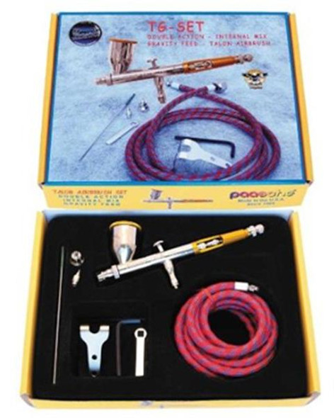 Paasche Talon Dual / Double Action / Internal Mix GF Airbrush Set TG-SET