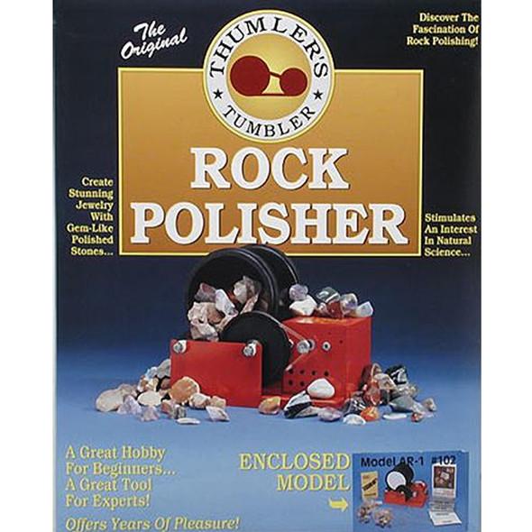 Thumler's Tumbler 102 A-R1 Rock Tumbler w/ Accessories