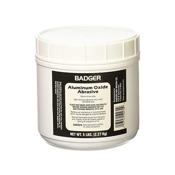 Badger 50-270 Aluminum Oxide Abrasive 5 lb Net Weight