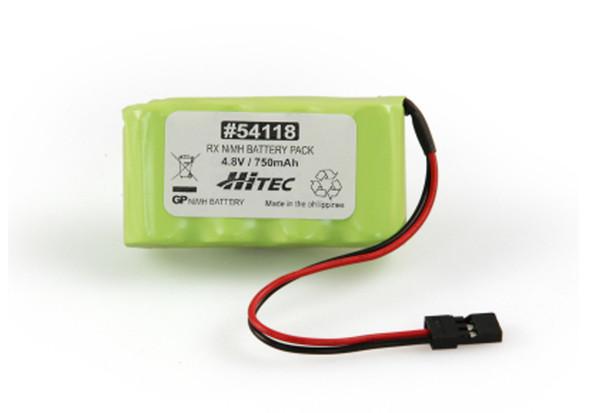 Hitec 54118 NiMH 4.8V 750mAh RX Battery Pack