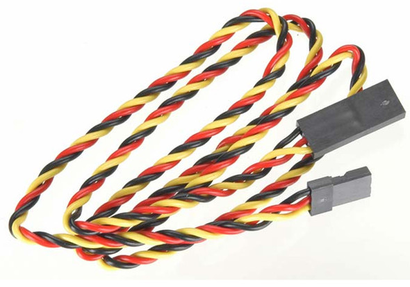 """Hitec 54611S Heavy Gauge Twisted Wire Aileron Extension 24"""""""