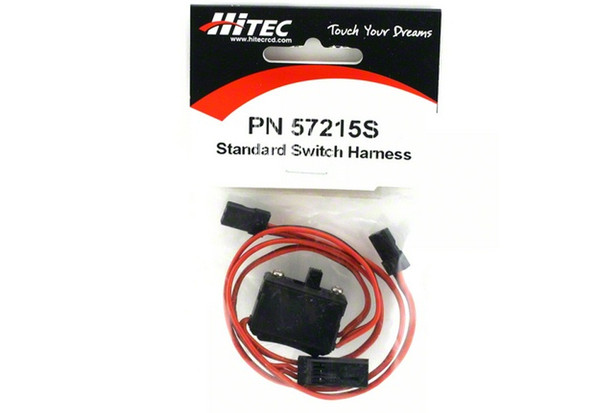 Hitec 57215S Switch Harness w/Charge Connector U
