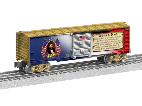 Lionel 6-82334 Ulysses S. Grant Boxcar Train