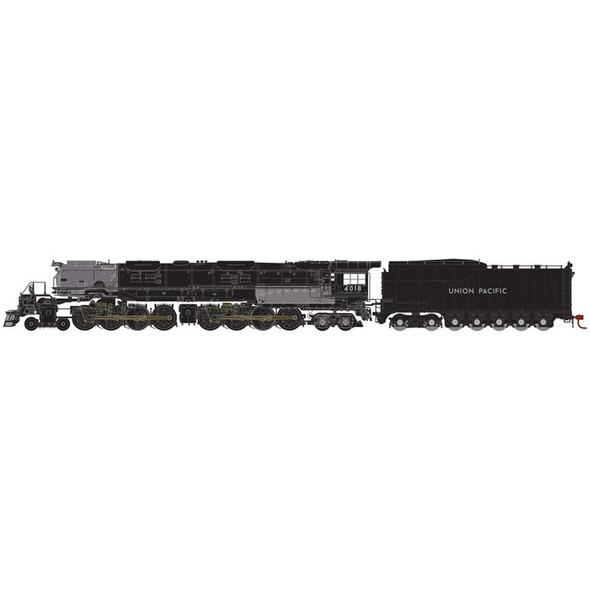 Athearn ATH30105 4-8-8-4 Big Boy Union Pacific #4018 Locomotive N Scale