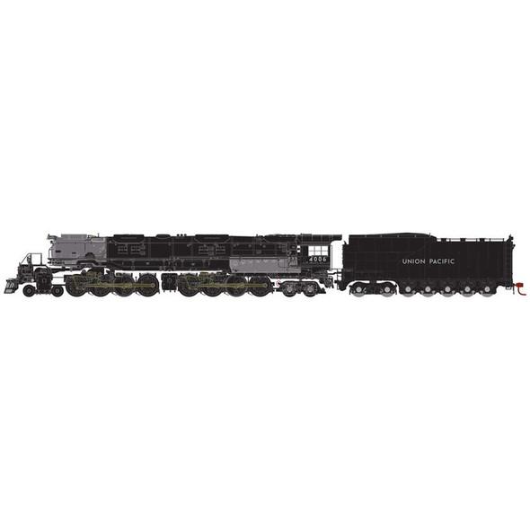 Athearn ATH30202 4-8-8-4 Big Boy w/ DCC & Sound UP #4006 Locomotive N Scale