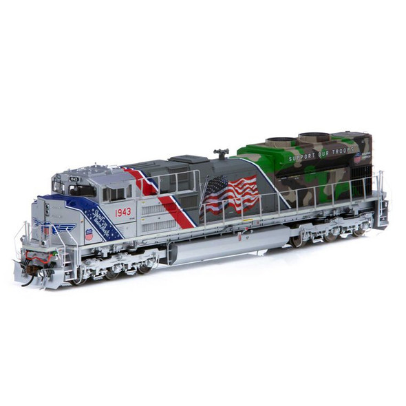 Athearrn ATHG01943 Union Pacific SD70ACe w/DCC & Sound #1943 Locomotive HO Scale