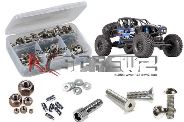 RC Screwz AXI022 Axial RR10 Bomber 1/10th Stainless Screw Kit