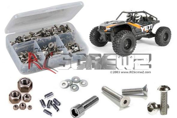 RC Screwz AXI026 Axial Yeti Jr. 1/18th Stainless Screw Kit