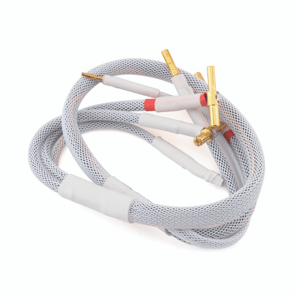Trinity TEP2409 2S Pro Charge Cables w/4/5mm Bullets White