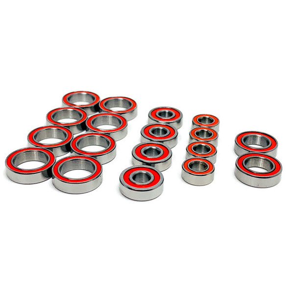Trinity TEP3048 Certified Red Seal Ceramic Ball Bearing Set (18) TLR 22X-4