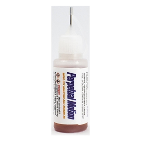 Trinity TEP5010 Perpetual Motion Ultra Lite Ball Bearing Oil 1/2oz. Needle Tip Bottle