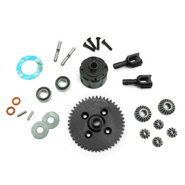 Tekno RC TKR5447B Complete Center Differential 46T : NB48.3 / NT48.3