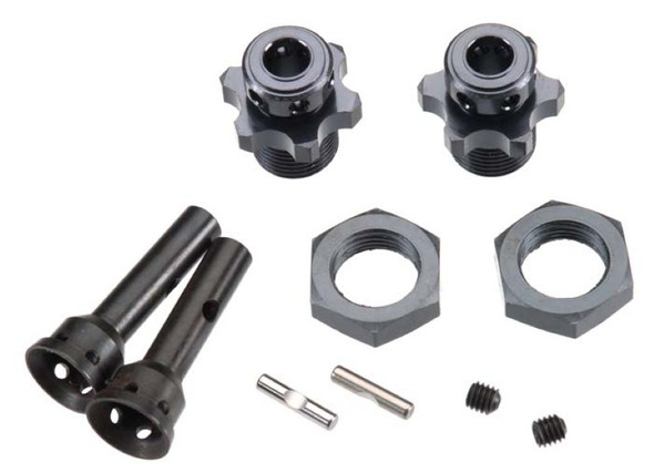 Tekno R/C Hub Adapters 17mm 1/8 Buggy SCT410 (2)