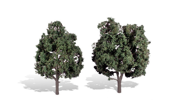 Woodland Scenics Cool Shade Trees 5-6in (2)