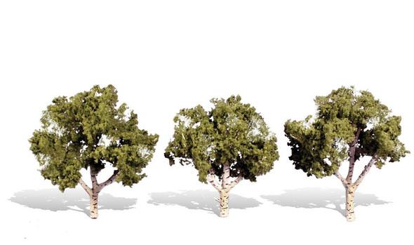 Woodland Scenics Waters Edge Trees 4-5in (3)