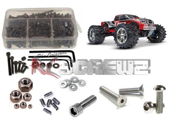 RC Screwz Stainless Steel Screw Kit Traxxas E-Maxx TRA030