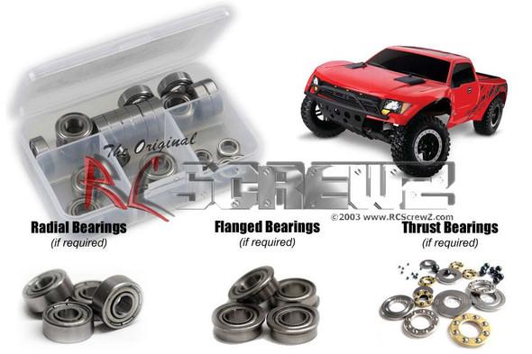RC Screwz TRA046B Traxxas F150 Raptor Metal Shielded Bearings Kit
