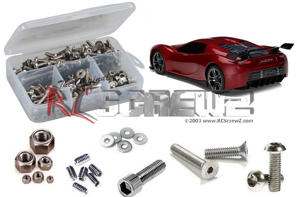RC Screwz TRA047 Traxxas XO-1 RTR Stainless Steel Screw Kit