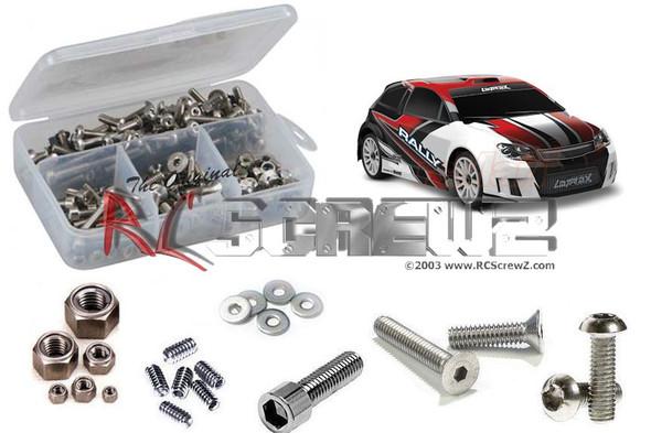 RC Screwz TRA053 Traxxas Latrax 4wd 1/18th Rally Stainless Steel Screw Kit