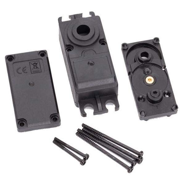 Traxxas 2251 Plastic Servo Case Top/ Middle/ Bottom/ Gaskets/ Hardware : 2250 / 2255