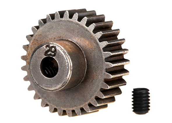 Traxxas 2429 29 Tooth Steel Pinion Gear w/Set Screw 48 Pitch :4-Tec