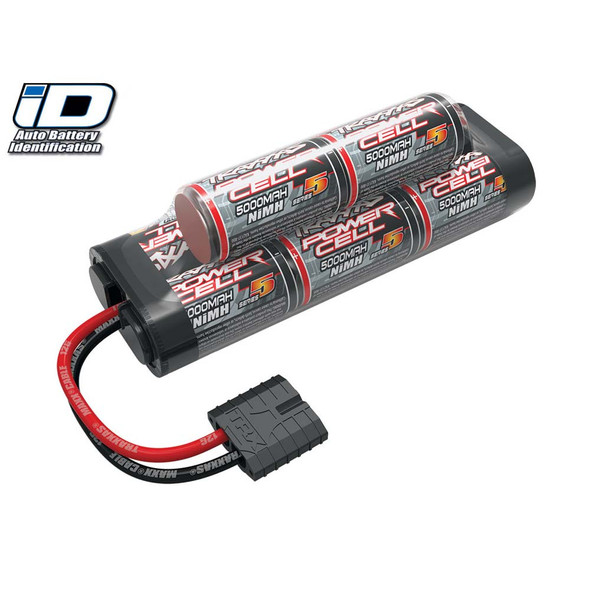 Traxxas 2963X Series 5 8-Cell 9.6V 5000mAh Hump NiMH Battery w/iD Connector