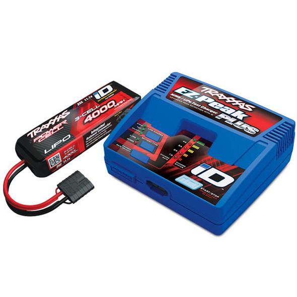 Traxxas 2994 4000mAh 11.1v 3S 25C LiPo Battery/EZ-Peak Charger Completer Pack : TRX-4