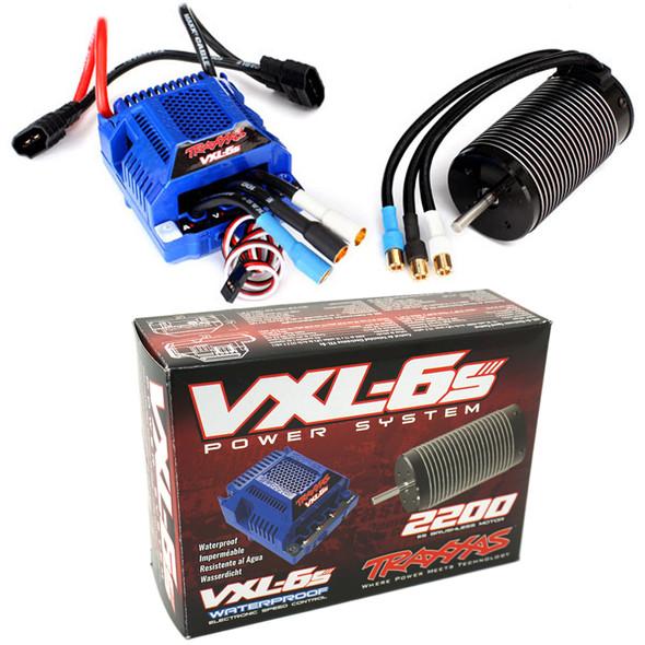 Traxxas 3480 Velineon VXL-6s Brushless Power System ESC & Motor : E-Revo / UDR
