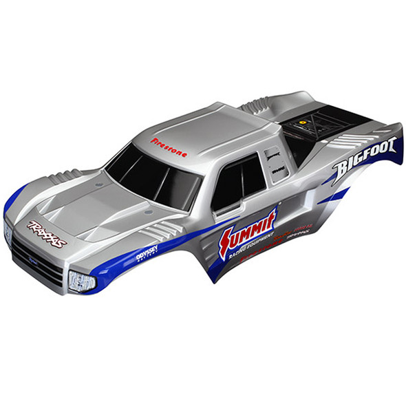 Traxxas 3659 Painted Body Decals Applied : Bigfoot Officially Licensed Replica