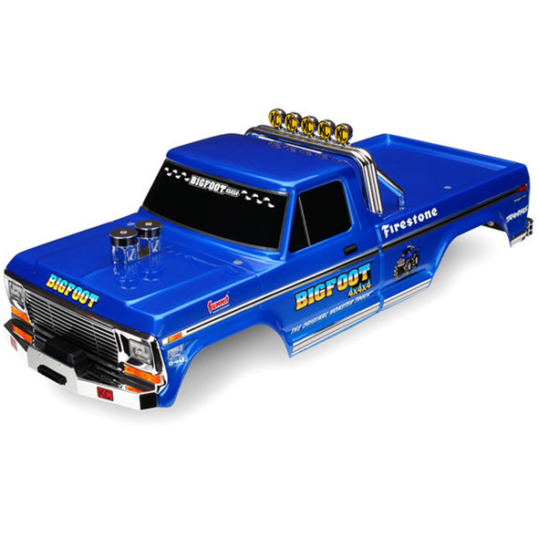 Traxxas 3661 Painted Body Decals Applied : Bigfoot No.1 Officially Licensed Replica