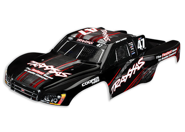 Traxxas 4418 Body Painted Decals Applied : Nitro Slash #47 Mike Jenkins