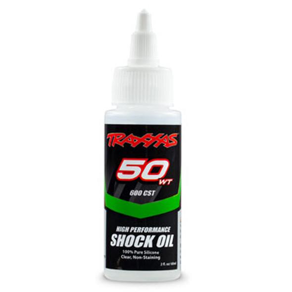 Traxxas 5034 Premium Shock Oil 50 WT / 600 CST / 60cc 100% Pure Silicone
