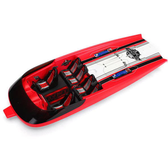 Traxxas 5771 Hatch Fully Assembled Red : DCB M41 Widebody