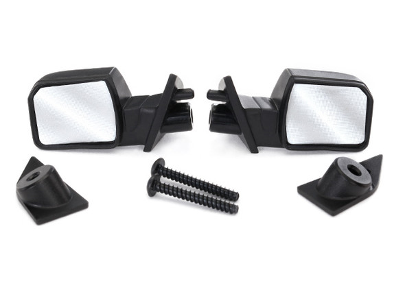 Traxxas 5829 Mirrors Side Left & Right / Mounts Left & Right : Ford F-150 Raptor