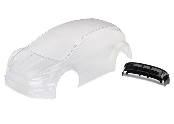 Traxxas 7412 Body, Ford Fiesta® ST Rally Clear Body Requires Painting