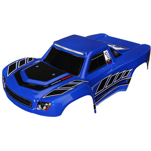 Traxxas Latrax 7618 Blue Body Painted / Decals : 1/18 LaTrax Desert PreRunner