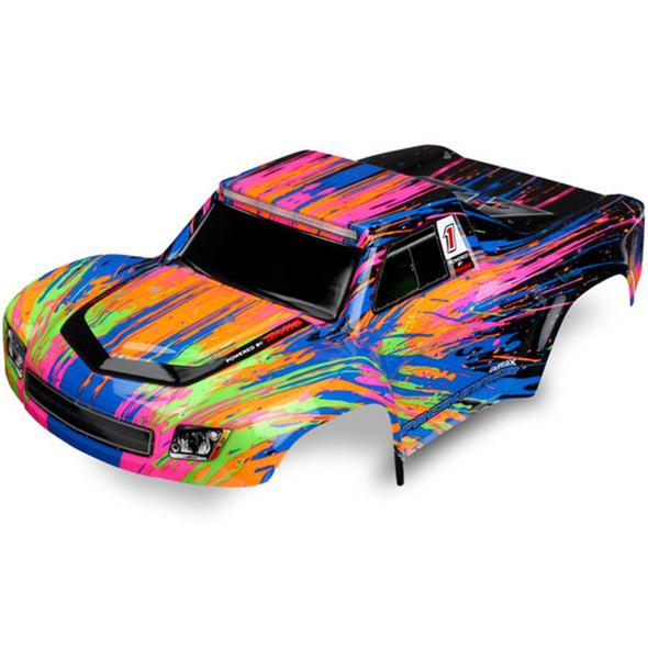 Traxxas Latrax 7620 Color Burst Body Painted / Decals : 1/18 LaTrax Desert PreRunner