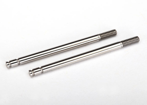 Traxxas LaTrax 7663 Steel Shock Shafts Chrome Finish (2)  : LaTrax SST / Teton