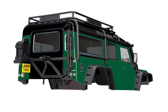 Traxxas 8011G Land Rover Defender Body Green: TRX-4