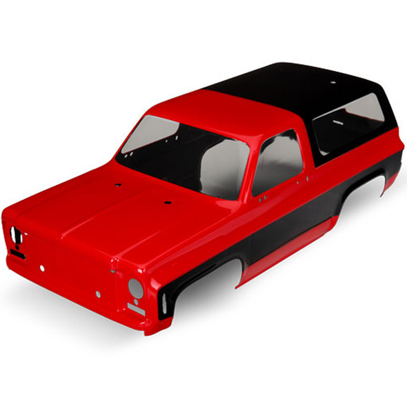 Traxxas 8130A Chevrolet Blazer 1979 Red Body Requires Grille / Decals : TRX-4