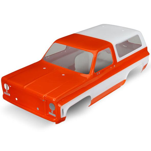 Traxxas 8130G Chevrolet Blazer 1979 Orange Body Requires Grille / Decals : TRX-4