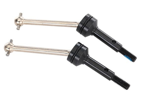 Traxxas 8350X Driveshafts steel constant-velocity assembled front (2) : 4-Tec 2.0 / Ford GT