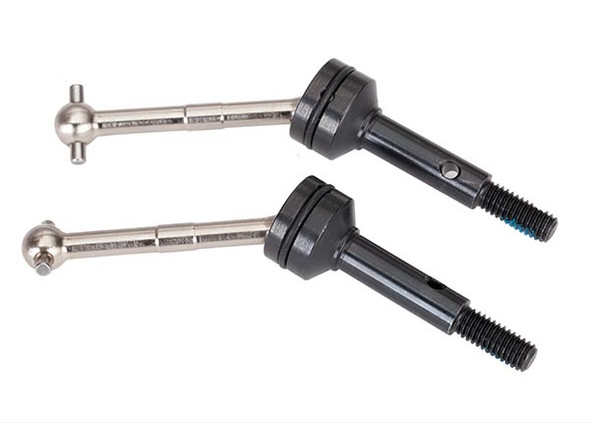 Traxxas 8351X Driveshafts steel constant-velocity assembled Rear (2) : 4-Tec 2.0 / Ford GT